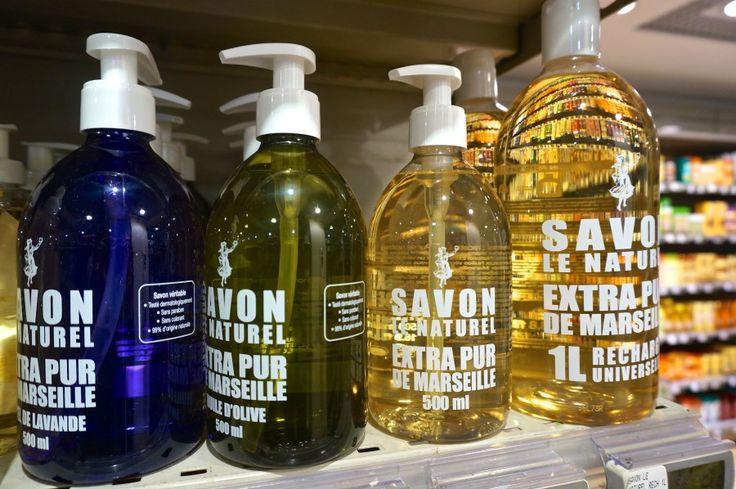 MONOPRIX Paris, France souvenirs from Monoprix supermarket bath wash savon