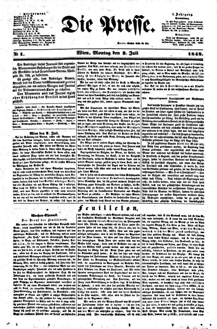 die presse, 18480703