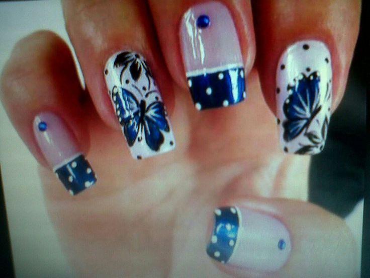 39 best Diseños para uñas images on Pinterest | Nail art tips, Nail ...