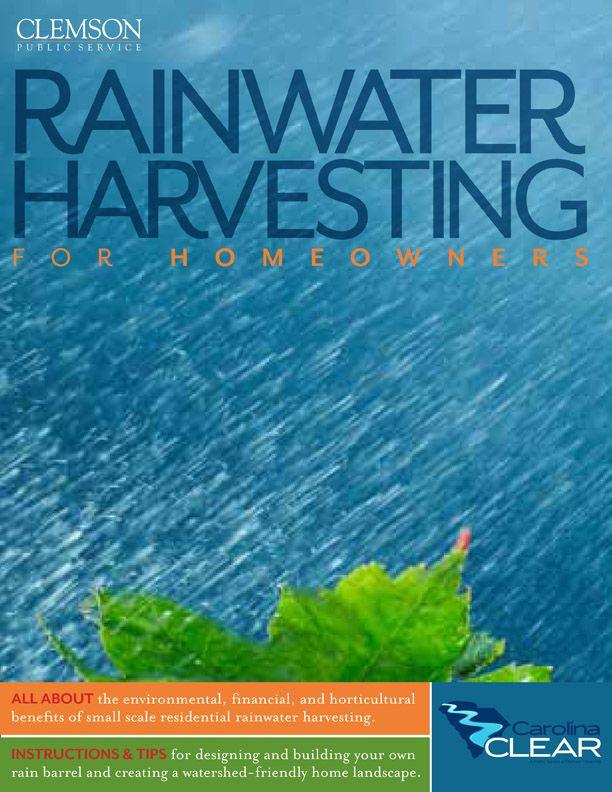 1000 ideas about rainwater harvesting on pinterest rain for Rainfall harvesting system
