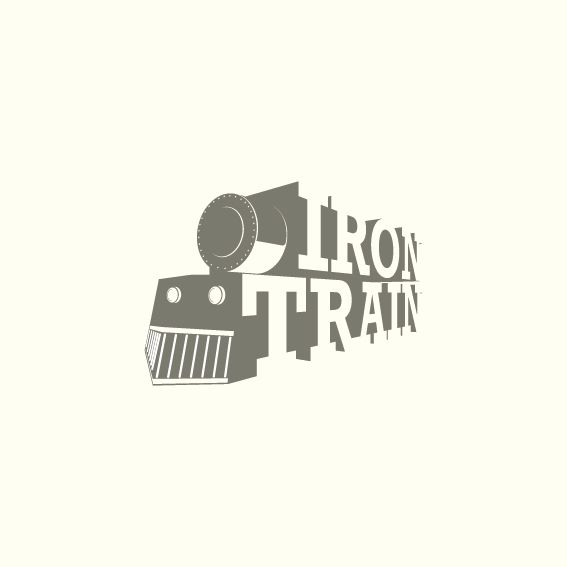 Logo : Iron Train  by Badreddine Biada
