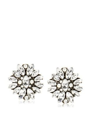 55% OFF Leslie Danzis Marquise Stone Cluster Post Earrings