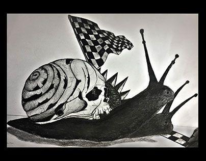 "Check out new work on my @Behance portfolio: ""Snail Race"" http://be.net/gallery/47123905/Snail-Race"