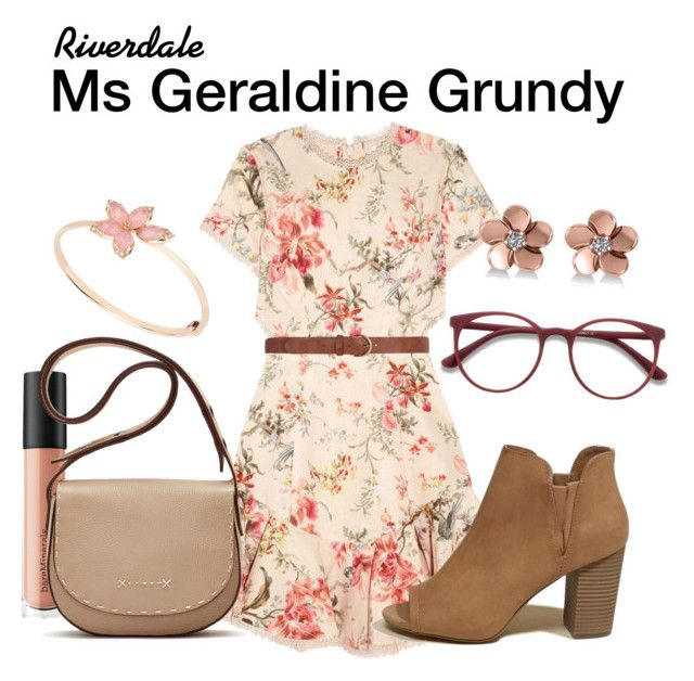 Ms Geraldine Grundy Riverdale by sparkle1277 on Polyvore featuring polyvore, fashion, style, Zimmermann, Hollister Co., Elizabeth and James, Allurez, EyeBuyDirect.com, Dorothy Perkins, Bare Escentuals and clothing
