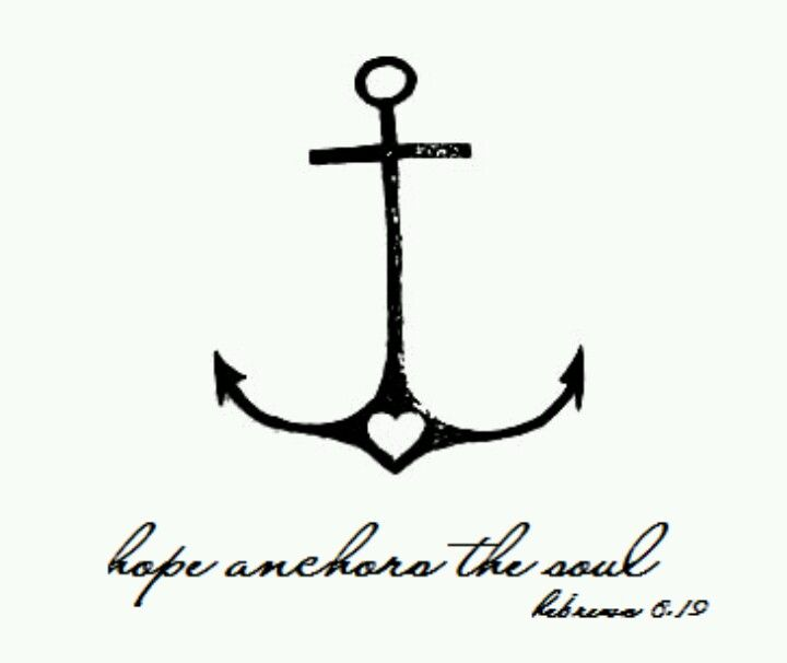 Hope anchors the soul. First tattoo?