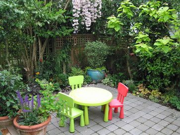 Landscape small+courtyard Design Ideas, Pictures, Remodel and Decor