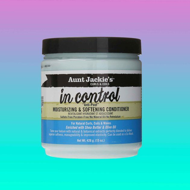Aunt Jackie's In Control Moisturizing and Softening Conditioner  - 14 Underrated Black-Owned Hair Products For Your Spring Arsenal