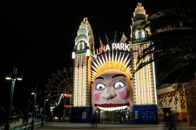 Luna Park, Sydney and Melbourne | Community Post: The Definitive Ranking Of Australia's Theme Parks And Water Parks