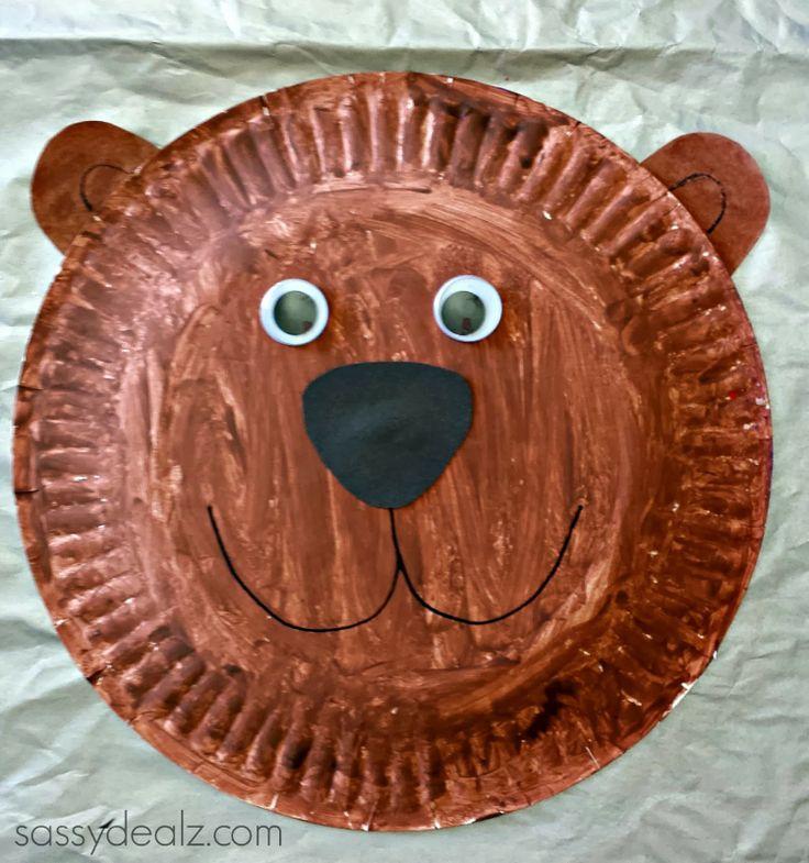 Groundhog paper plate craft for kids - Sassydeals com ...