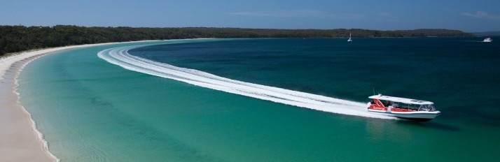 Why not take your delegates for a tour around Jervis Bay?