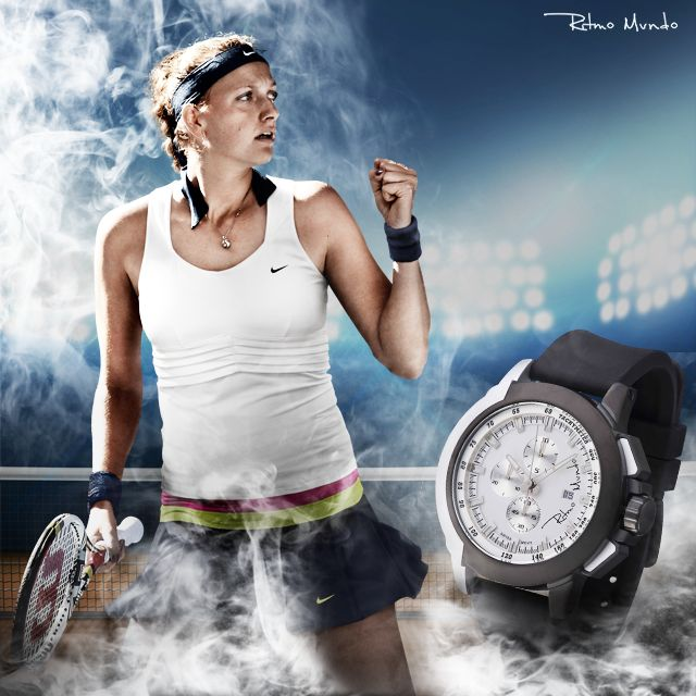 Petra Kvitova Shares Views on Time, Tennis and Ritmo Mundo During the US Open Tennis Championships | ATimelyPerspective