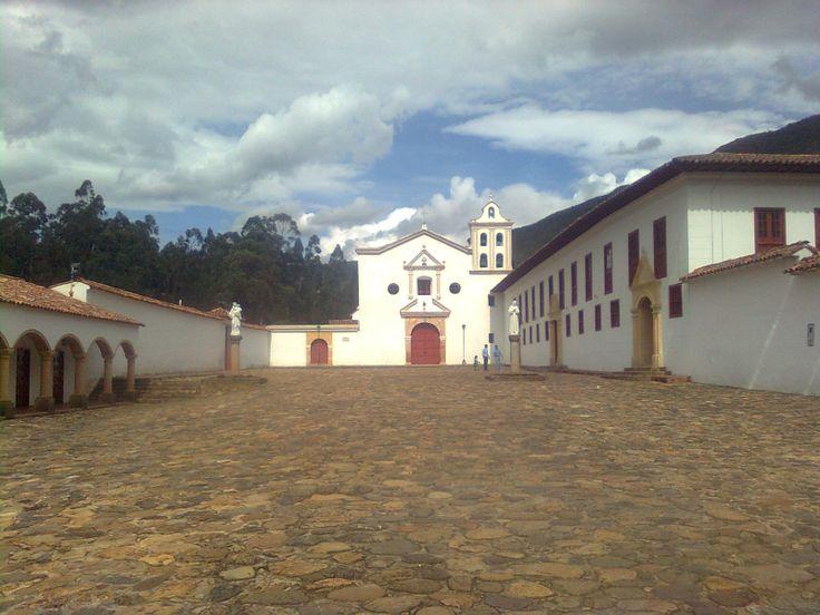 Monasterio Desierto  La Candelaria. Boyacá. COLOMBIA