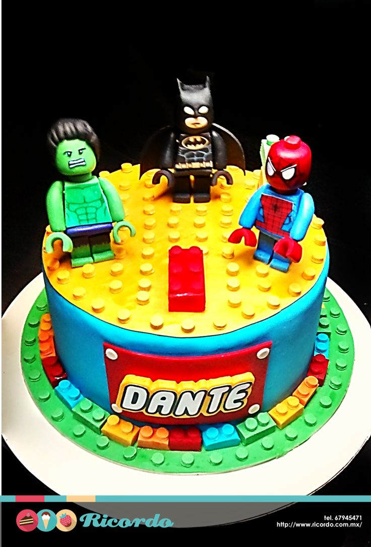 #MiercolesDeGaleria LEGO En RICORDO encontrarás pasteles con tus personajes favoritos de #LEGO #catalogoRICORDO #pastel #fodant #fondantcake #lego #batmanLEGO Legobricksmexico LEGO Batman: La Película Lego spiderman Lego Hulk Lego Batman: The Movie – DC Super Heroes Unite Lego Marvel Avengers LEGO Marvel LEGO Marvel Superheros Lego DC Comics Super Heroes: Justice League: Attack of the Legion of Doom