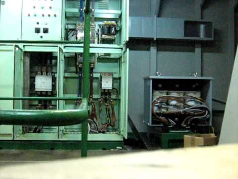 Electrical arc flash caused by overloaded transformer - start at 1:10