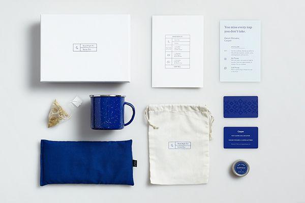 Casper - Good Night Kit on Behance