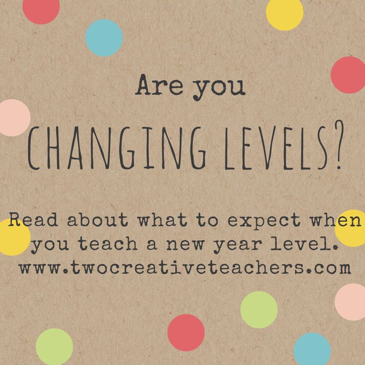 What to expect and some tips when changing year levels at school http://www.twocreativeteachers.com/blog/what-to-expect-when-you-change-year-levels