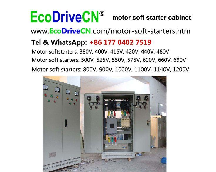 EcoDriveCN® motor soft starter MCC panel are made of soft starter controller, motor soft starter breaker, bypass contactor, power controller. http://www.EcoDriveCN.com/areas/motor-soft-starters.htm