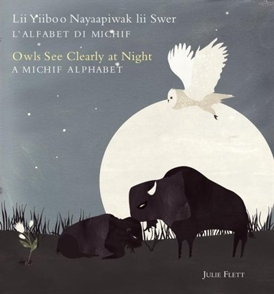 Owls See Clearly At Night (Lii Yiiboo Nayaapiwak Lii Swer): A Michif Alphabet (L'Alfabet Di Michif)