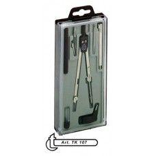Körző készlet csuklós szárú 7 darabos ( 1 körző ) TK107 - 789Ft - Körző - Körző készlet