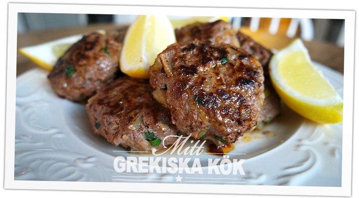 Recept på Bifteki- grekiska pannbiffar | Mittgrekland