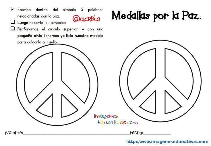 Día Escolar De La Paz Y La No Violencia 6 En 2020 Dia De La Paz Paz Simbolo De Paz