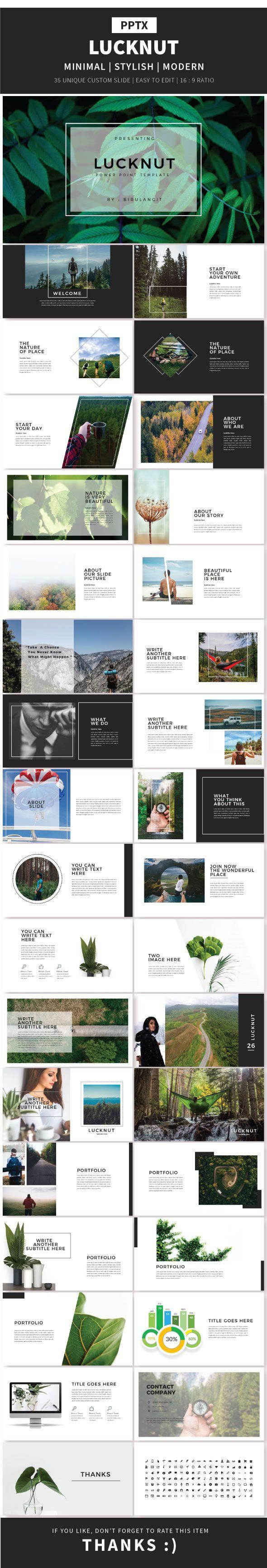 Lucknut Multipurpose Template - Creative PowerPoint Templates