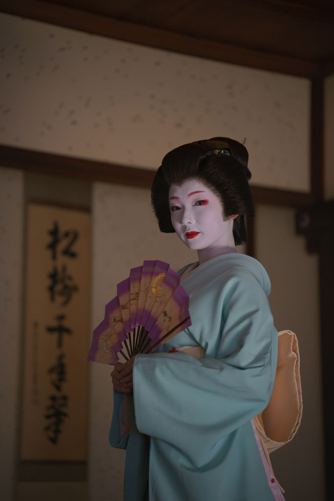 geiko 芸妓 Miyagawacho 宮川町 Toshimana とし真菜KYOTO JAPAN