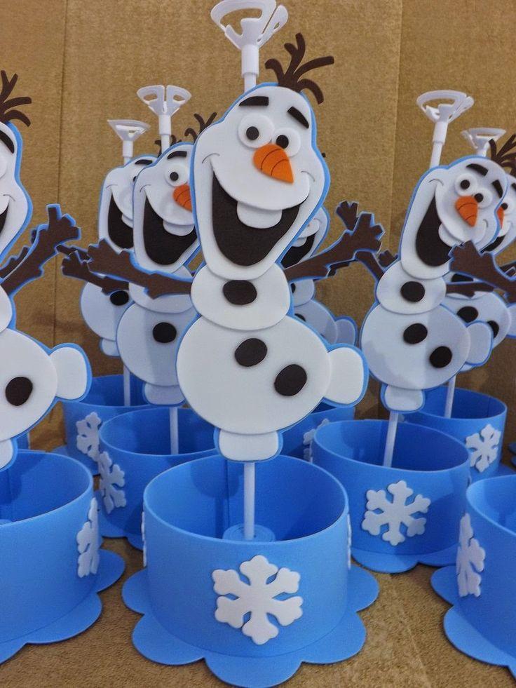 AE: Centro de Mesa Frozen