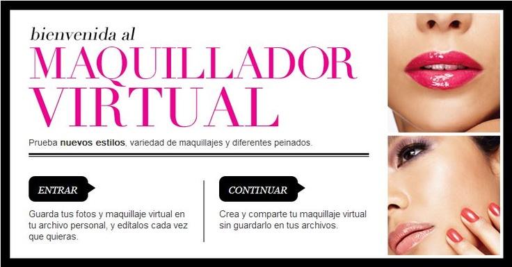 """Probar maquillaje antes de comprarlo con cambio de imagen virtual de Avon. Es divertido también! Llamar / Trisha texto para obtener más información o para ordenar a (812) 207-0556, e-mail a Trisha IndianaAvon@yahoo.com. Tienda en línea de mi sitio web en español, directa entrega / envío gratis haciendo clic en """"español"""" en el enlace de arriba en http://shop.avon.com/shop/product_list.aspx?level1_id=300_id=301_type=C=Makeup"""