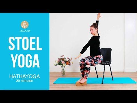 Stoel Yoga op Kantoor of Thuis - YouTube