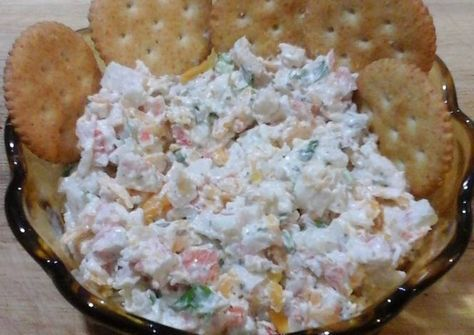 Imitation Crab Salad Recipe - Yummy this dish is very delicous. Let's make Imitation Crab Salad in your home!