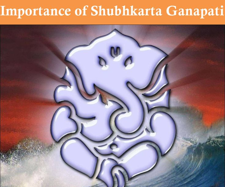 Importance of Shubhkarta Ganpati - Lets Shubhkarta Ganpati #bless you and your family and create a positive #environment around them.  #ganesha #ecofriendlyganesha #ganeshutsav #lordganesh