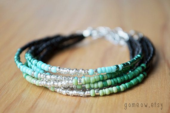NEW Colors // Dainty Friendship Bracelet // Adjustable by Gomeow