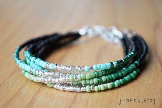 NOUVELLES couleurs / / délicat Bracelet d'amitié / / par Gomeow