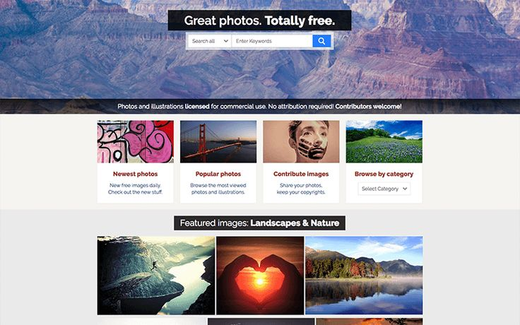 Are you searching for the 5 Best Free Stock Photo Sites for your WordPress Blog? So through this article, we are going to help you. 1. Pixabay Pixabay is a dynamic creatives community for sharing and using copyright free photos, vectors, illustrations, graphics, and videos.