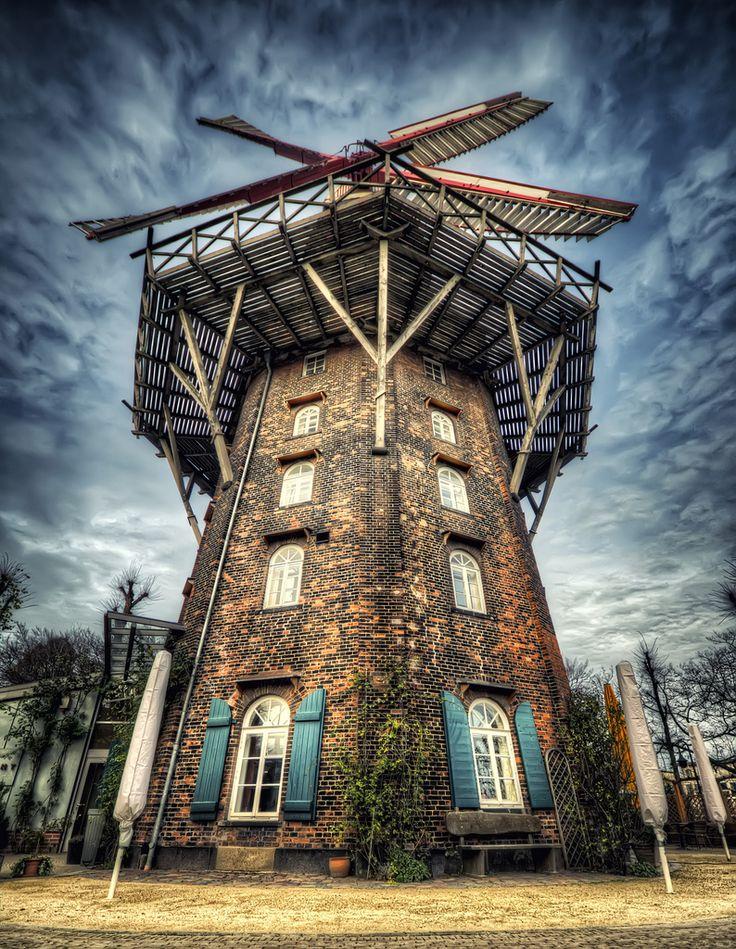 breathtakingdestinations: Am Wall Windmill - Bremen - Germany HDR (von Peter Gorges)