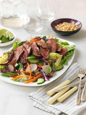 Asian Grilled Beef Salad | Salad-Any Salad! | Pinterest | Beef Salad ...