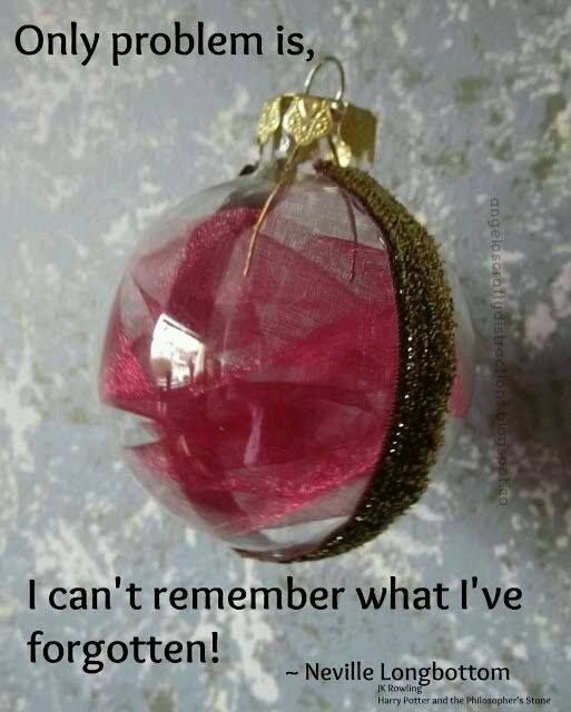 A remembrall christmas ball