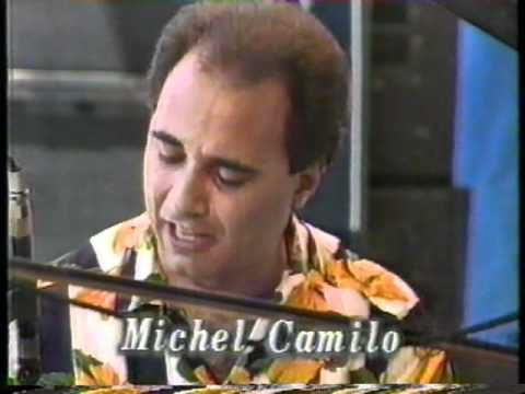 Suite Sandrine Part1 / Michel Camilo Trio. Michel Camilo (p), Cliff Almond (ds), Michael Bowie (b). Cliff was SO young there.