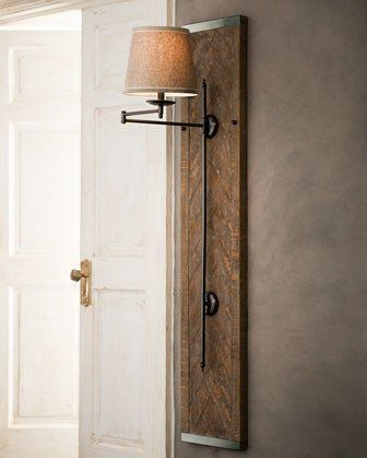 Wood Panel Sconce Living Room Wall Sconces How To Hide
