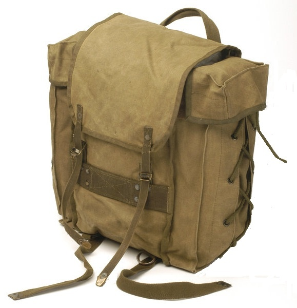 webbingbabel: Italian Army Small Tactical Backpack 80s - Zainetto Tattico Esercito Italiano anni '80