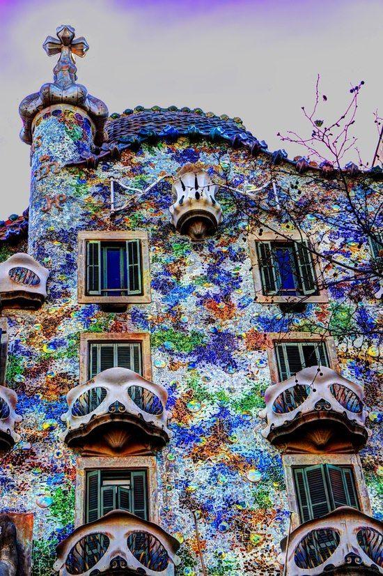 Casa Batlló, Gaudi, Barcelona  ALBUM: Brighten the Corner Where You are!