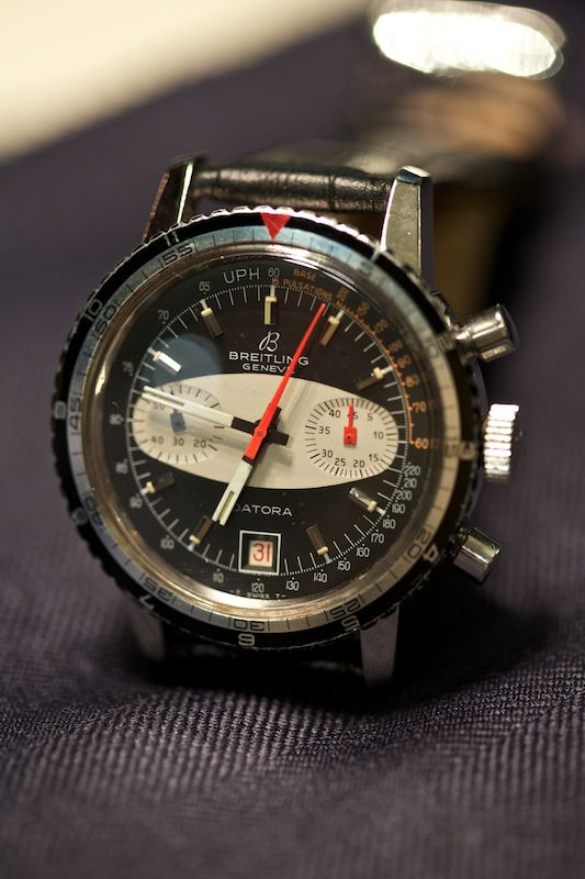Cant explain it but this reminds me of macgyver. #watches | Datora Breitling - vintage watch