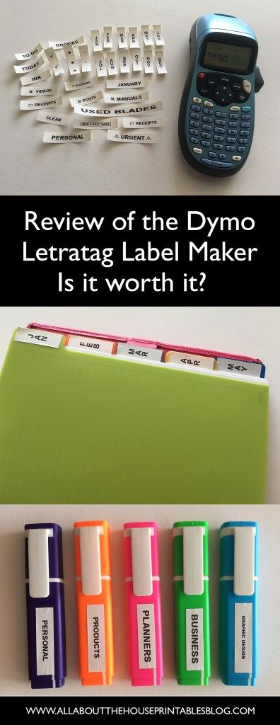 dymo letratag label maker review newbie planner supplies labelling 101 best labellling machine under 50 dollars diy tab labels color coding  http://www.allaboutthehouseprintablesblog.com/dymo-letratag-label-maker-machine-review-is-it-worth-buying/