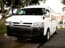 Affordable bus charter available for hire in Singapore. Choose from 8 or 13 seater minibus of toyota / mercedes.