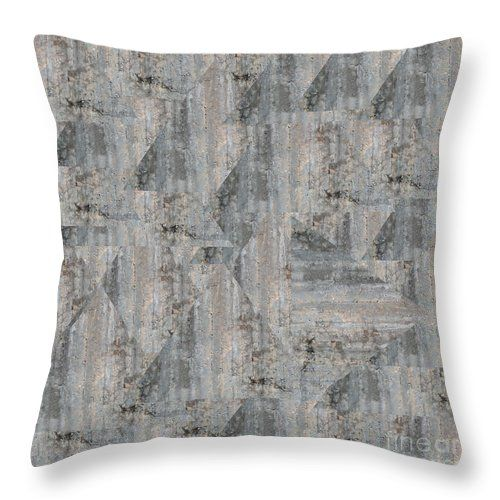 Concrete Wall Throw Pillow by Sverre Andreas Fekjan.  Our throw pillows are made from 100% spun polyester poplin fabric and add a stylish…