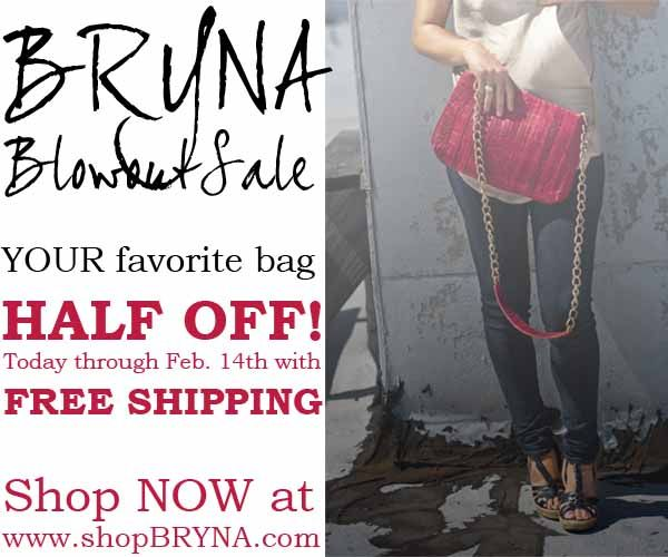 1/2 off from bryna nicole thru feb.14 http://ow.ly/8NhJK: Francisco Shops, Feb 14 Http Ow Ly 8Nhjk, Bryna Bags, Bryna Nicole, Bags Half, San Francisco, Shops Sales
