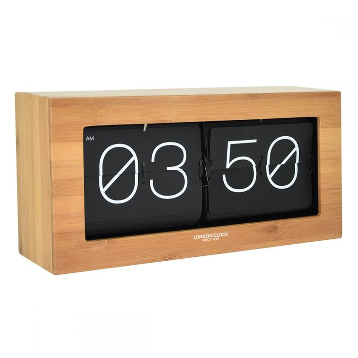 <p>Stor' meaning great in Swedish reflects the clocks bold appearance. The wood veneer finish reflects the warmth of the scandinavian inspired timepiece, whilst the large flip feature with its bright white letters looks great as well as being easily visible. The 'Stor' flip clock will look great in any home or office.</p>
