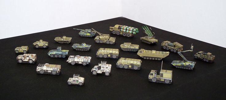 Mikromodele współczesnych pojazdów armii Republiki Czeskiej 1:250 Pojazdy bojowe http://mojeminiatury.waw.pl/mikromodele-wspolczesnych-pojazdow-armii-republiki-czeskiej-1250/