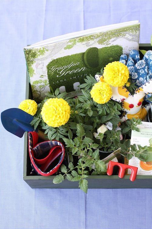 Garden Basket Ideas gardening raffle basket Diy Little Farmer Easter Basket